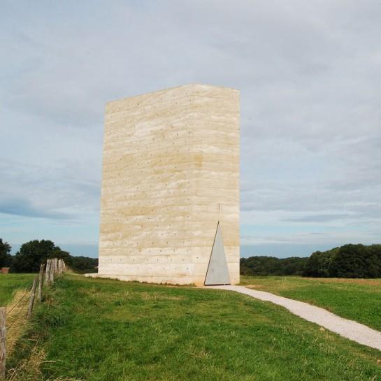 Außenansicht der Bruder Klaus-Kapelle in Wachendorf / Foto: Willem-Jan Beeren