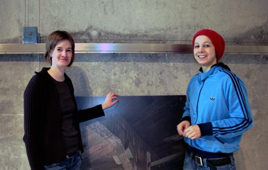 Silke Schmidt und Johanna Ahlert