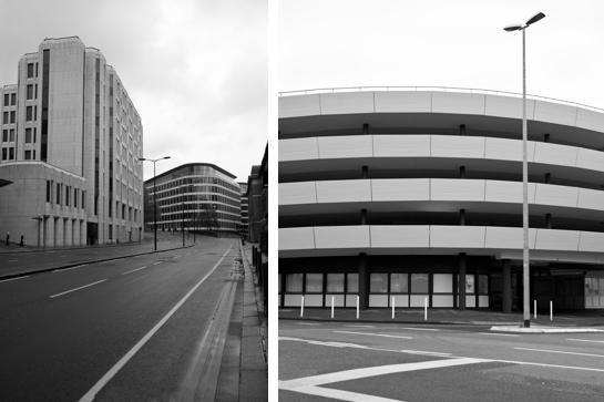 """""""Architektur-Straßen"""" von Stefan Scherer, eine Foto-Reportage über Beton in der Stadt"""