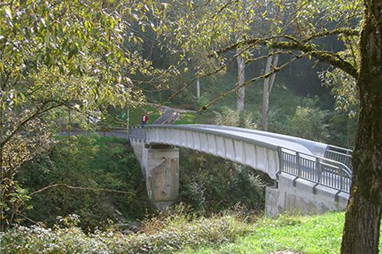 Die längste Textilbetonbrücke