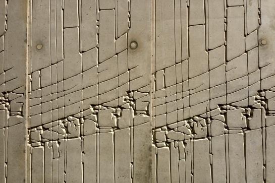Architekturzeichnung als Fassadengestaltung (Tchoban Foundation, Berlin)