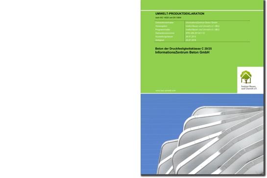 Umwelt-Produktdeklarationen (EPD)