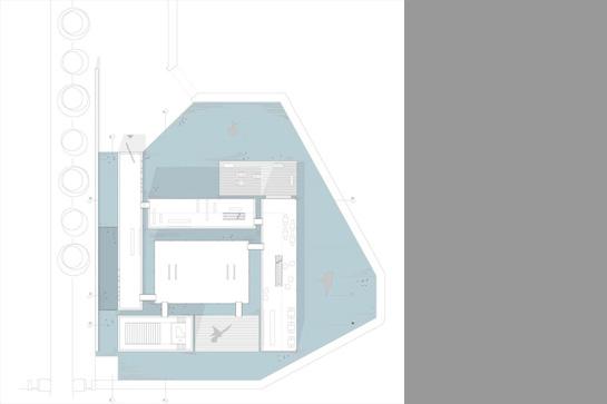 Grundriss des Gebäudekomplexes