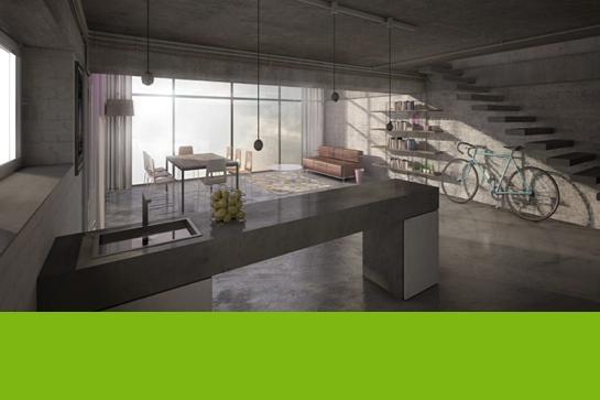 cdc 1 preis wohnen im parkhaus beton campus. Black Bedroom Furniture Sets. Home Design Ideas