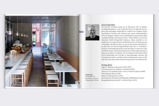 David Chipperfield: Blick ins Booklet zum Hörbuch