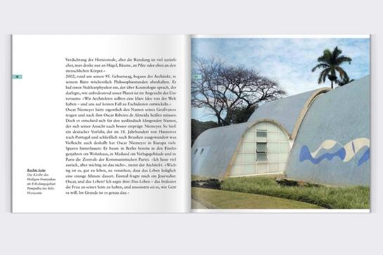 Oscar Niemeyer: Blick ins Booklet zum Hörbuch