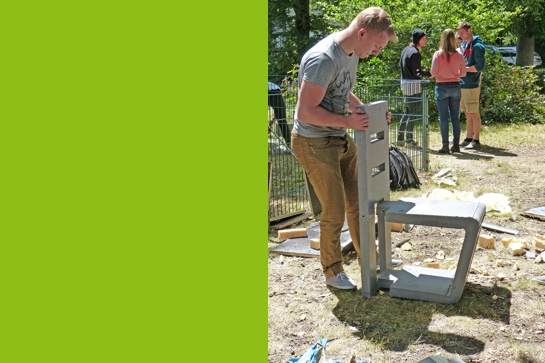 architektur studierende entwerfen und bauen m bel aus beton. Black Bedroom Furniture Sets. Home Design Ideas