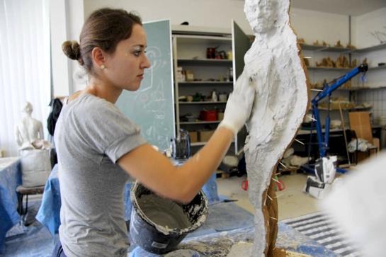 Gips skulpturen herstellen