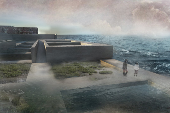 Concrete Design Competition 2014_15_The HL Grid_4_Valentina Balitskaya