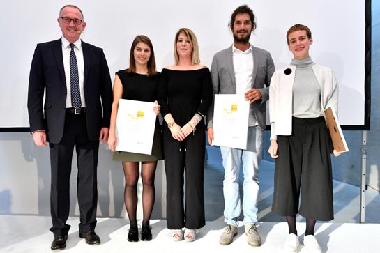 Preisverleihung des Concrete Design Competitions 2016/2017