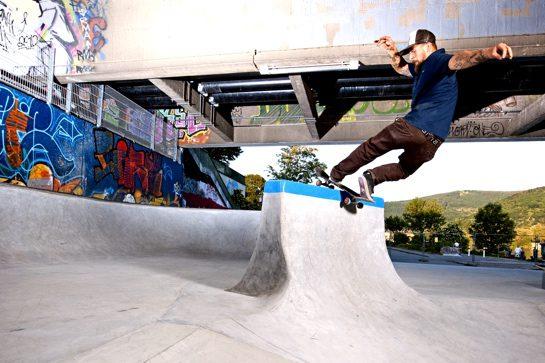 Skatepark aus Ortbeton (© HeidelbergCement AG, Steffen Fuchs)