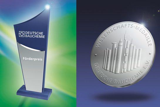 Förderpreis und Wissenschafts-Medaille (Deutsche Bauchemie e.V.)